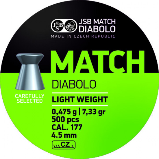 JSB Match Green