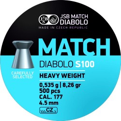 JSB Match Blue S100